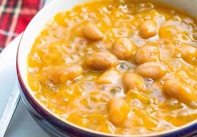 cách nấu chè bí đỏ khoai lang đậu phộng